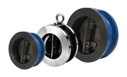 Doppelrückschlagklappe für den industriellen Einsatz
