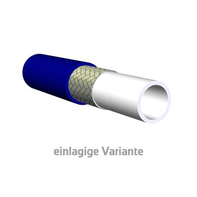 Farbspritzschlauch Capella PA einlagige Variante