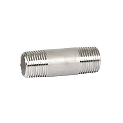 Edelstahl Rohrdoppelnippel 3-310