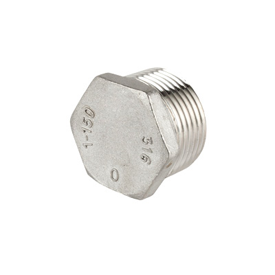 Sechskant-Stopfen Endstück (Edelstahl) / hexagon plug stainless steel