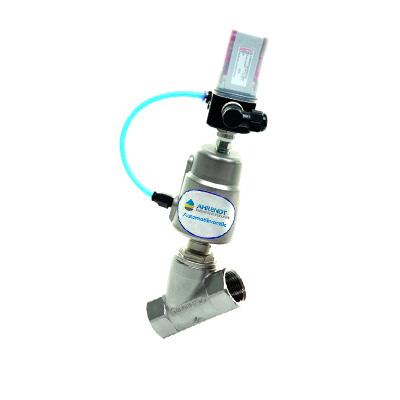 2-Wege-Automatikventil als Schrägsitz-Regelventil (Angle Valves)