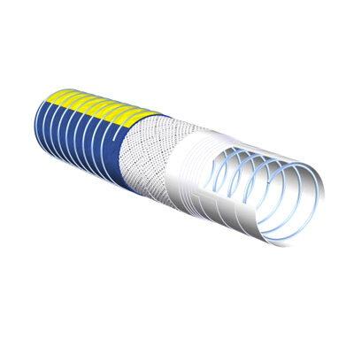 Folienschlauch Andromeda PP OIL ZZ 15 blau mit Spiralen