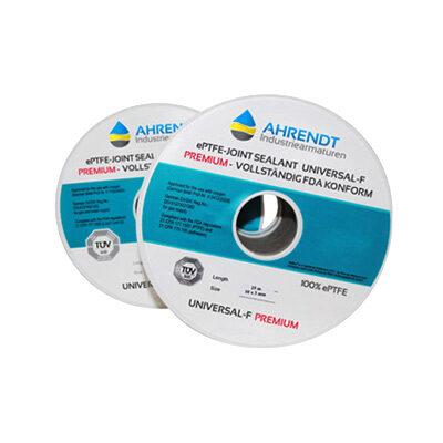 Universal-F Flachdichtung Premium mit FDA Zulassung aus der Ahrendt PTFE Dichtungstechnik Serie